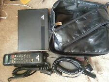 Vintage ANTEL MOBILE Brick Car Bag Analog Cell Phone Antenna untested  AS IS