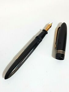 Stylo plume ancien Bayard Le spécial luxe 656 plume or 18 carats Old foutain pen