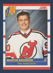MARTIN BRODEUR RC 1990-91 SCORE 90-91 NO 439  36310
