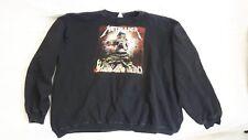 Metallica Vintage Sweater 80s Metal Thrash Slayer Tour Shirt Crew neck LP 7 12 S