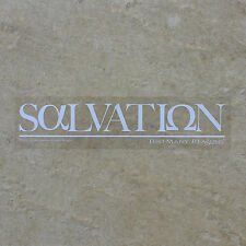 SALVATION AlphaOmega TMR Premium Sticker ClearBack