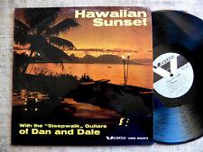 Sleepwalk guitars of Dan and Dale - Hawaiian Sunset - LP