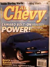 ALL CHEVY MAG. SEPTEMBER1995 ISSUE. INSIDE STERLING MARLIN'S WINNING MONTE CARLO