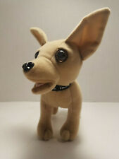 Taco Bell Yo Quiero Talking Chihuahua Dog Plush Toy by Applause Working Vintage