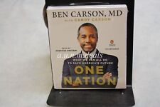 One Nation : What We Can All Do to Save America's Future by Candy Carson and ...