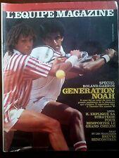 L'Equipe Magazine 27/5/1989; Génèration Noah/ Steffi Graff/ Stade Toulousain