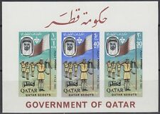 Qatar 1965 ** Bl.1 B Pfadfinder Scouts Scouting