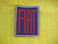 "Vintage Fiat  Racing  Patch 2 1/8 "" X 2 1/2 """