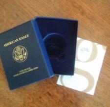 2008 AMERICAN EAGLE ONE OUNCE GOLD UNCIRCULATED COIN (Box, COA, Insert) NO COIN!