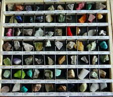 Rocks and Minerals Collection 420 Pcs 1 inch