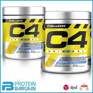 Cellucor C4 Pre Workout 5th Gen 30/60 Serve Creatine Caffeine Pump