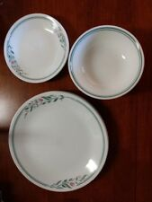 Corelle Rosemarie  4 Dinner plates, 4 bread and butter plates, 4 soup bowls