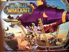 MEGA BLOKS World of Warcraft WOW Set 91014 Goblin Zeppelin Ambush NEW
