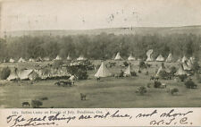 Pendleton OR * Indian Camp on Fourth of July 1906 * July 4  UNUSUAL