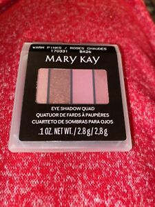 Mary Kay Limited Edition WARM PINKS Shimmer Eye Shadow Quad New