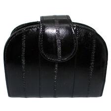 Genuine Eel Leather HalfMoon Wallet Purse