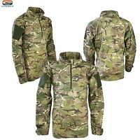Kids/Boys Army BTP Camo UBACS Army Style Long Sleeved Cotton Top Age 7-8 Years