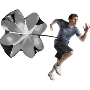 SKLZ Speed Chute Resistance Training Parachute - Black