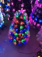 CHRISTMAS TREE FIBRE OPTIC -60CM- AWESOME XMAS TREE.SALE NOW ON!