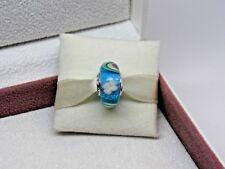 New w/Box Pandora Iridescent Rainbow Glass  Murano Charm 797013 Spring 2018