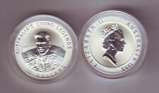 1995 Australia Silver $10 Coin Olympic Heritage Series Murray Rose Swimming
