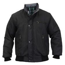 Abrigos y chaquetas de hombre negro talla XL cazadores