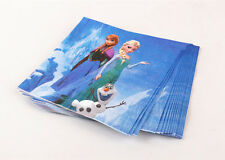 ♛ Shop8 : 20 pcs FROZEN PAPER NAPKIN TISSUE Birthday Party Needs