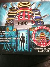 Dr Who  & The Daleks 2150 Dalek Invasion Unstoppable cards 5 new unopened packet