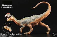 Jurassic Dinosaur Model Toy Dilophosaurus Collectible Figurine Figure Toy