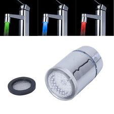Rubinetto a spruzzo sensore di temperatura LED a tre colori HK R6D4