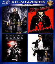 Sci-Fi Action: 4 Film Favorites (Blu-ray Disc, 2014, 4-Disc Set)