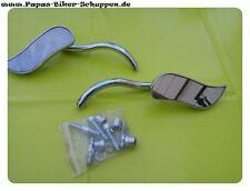 Harley Chromspiegel Minispiegel Chopperspiegel Paar Chrom Chopper Spiegel
