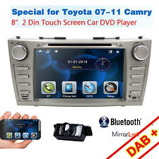 Fit Toyota Camry 2008-2011 Car DVD Player GPS Navigation Bluetooth Radio Stereo