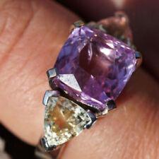 Unbehandelte Ringe mit Saphir echten Edelsteinen Ø) von (17,5 mm