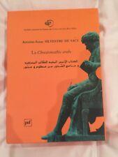 SYLVESTRE DE SACY: CHRESTOMATHIE ARABE, ou extraits de divers écrivains arabes..