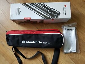 Manfrotto Befree advanced travel tripod - bought new never used in excellent con