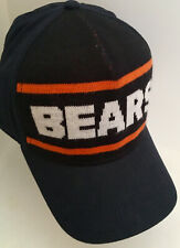 OSFA Chicago BEARS DITKA Knit Sweater Panel Spellout Reebok Hat NEW