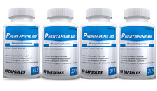 Authentic Phen-tamine 60count #1 Weight Loss Diet Pills 4 BOTTLES FREE SHIPPING