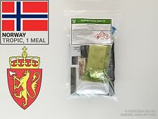 Norway Army Ration Pack TROPICAL. Military meals ready to eat (MRE) warm season