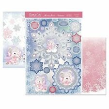 hunkydory christmas cuties my winter friend  topper set