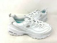 NEW! Skechers Women's D'LITES FRESH START Shoes WIDE White #11931EW 200EFGH tz