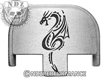 Rear Slide Plate for Smith Wesson S&W SD9 SD40 VE 9mm 40 SL Tribal Dragon 1