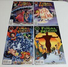 The Final Night #1 #2 #3 & #4 complete mini - lot of 4 DC Comics 1996