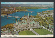 Canada Postcard - Aerial View of The Parliament Buildings, Ottawa  RR4500