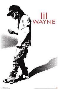 LIL WAYNE - HUSTLE MUSIC POSTER - 22x34 - 14902