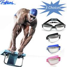 Clear Swimming Goggles Anti Fog UV Glasses Comfortable Eye Protection Men Women