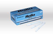 600 MICRO SLIM BLUE EMPTY ROLLO TUBE Cigarette Tobacco Rolling Filter Ventti