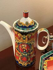 ROSENTHAL VERSACE STUDIO-LINIE LE ROI SOLEIL COFFEE/CHOCOLATE POT FIRST CHOICE