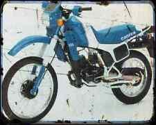 Cagiva Elefant 125 84 A4 Metal Sign Motorbike Vintage Aged
