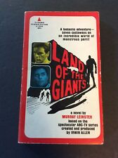 LAND OF THE GIANTS By Murray Leinster1968 Pyramid  Paperback